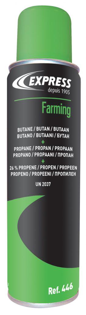 Gas cartridge butane/propane/propene Cat. No. 446