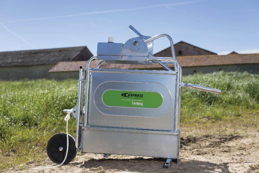 Клетка для иммобилизации крупного рогатого скота и комплект для передвижения Art. 47010