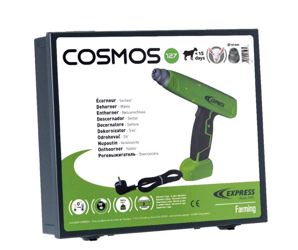 La valisette de l'écorneur électrique Cosmos Réf. 127