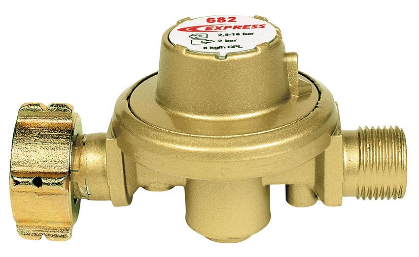 Détendeur 2 bar fixe Réf. 682 pour écorneur à gaz Daos Réf. 114-2